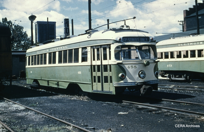 IT 455 at Granite City in September 1953. (Photographer unknown - CERA Archives)