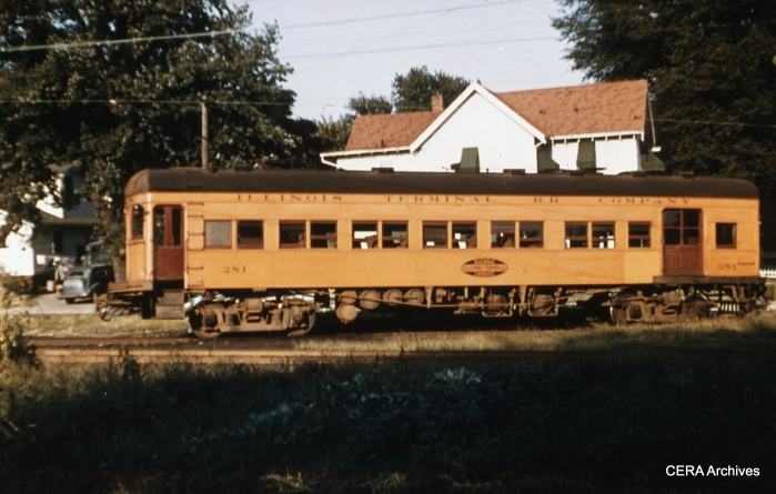 IT 281 at Decatur. (Photographer unknown - CERA Archives)