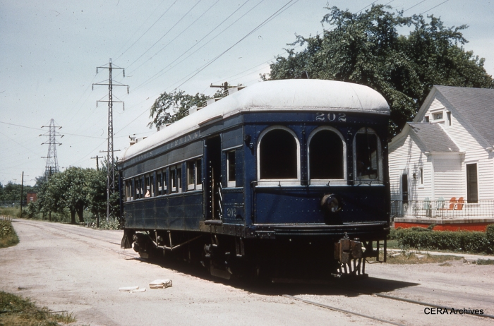 IT 202 in Riverton in June 1954. (Photographer unknown - CERA Archives)