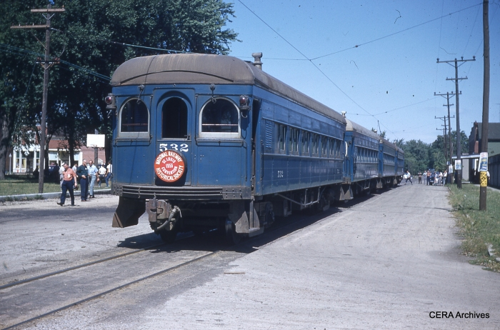 IT 276-529-530-532 on an NRHS special, September 6, 1953. (Photographer unknown - CERA Archives)