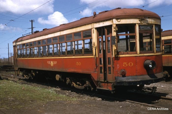 RTC 50 on April 30, 1956. (Photographer unknown - CERA Archives)