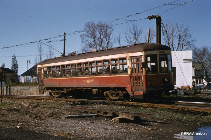 RTC 64 on April 30, 1956. (Photographer unknown - CERA Archives)