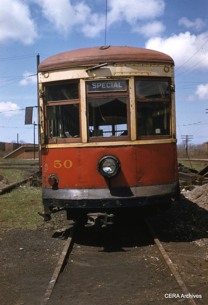 RTC 50 in April 30, 1956. (Photographer unknown - CERA Archives)