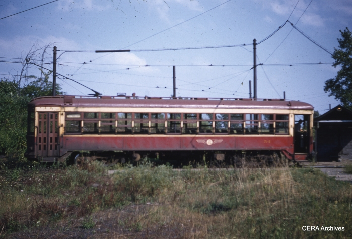 RTC 54 in 1956. (Photographer unknown - CERA Archives)