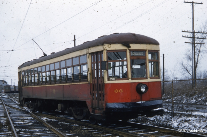 RTC 66 on March 30, 1956. (Photographer unknown - CERA Archives)