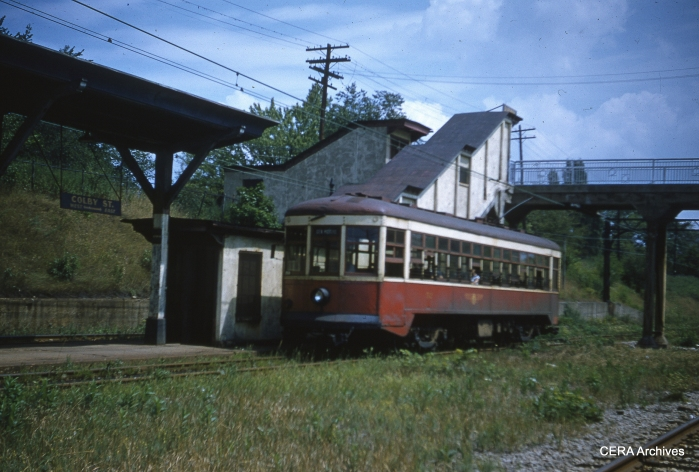 RTC 52 at Colby Street in April 1956. (Photographer unknown - CERA Archives)