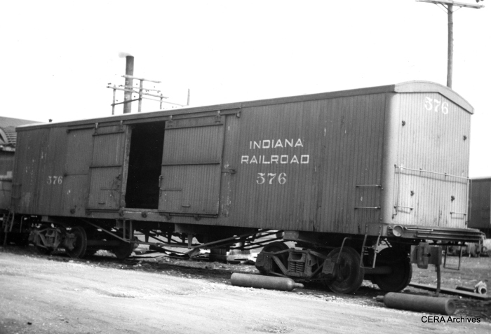 Indiana Railroad boxcar 576. (Photographer unknown - CERA Archives)