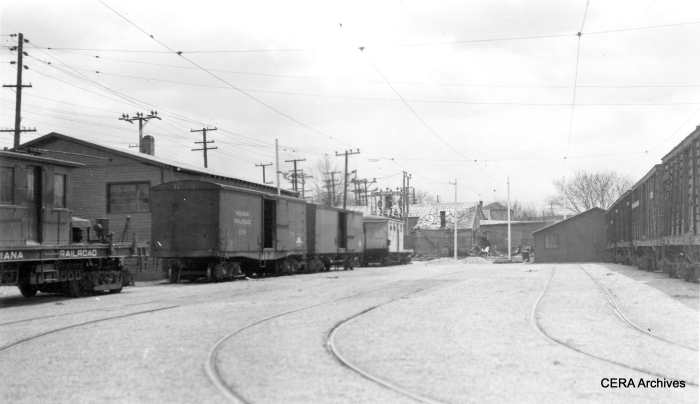 IR trolley freight operations at an unidentified location. (Photographer unknown - CERA Archives)
