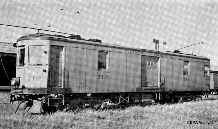 IR 712 was built by American Car and Foundry in 1924. (Barney Neuburger Photo - CERA Archives)