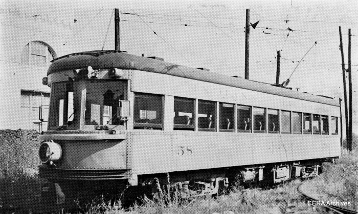 IR 58, which was used on an early CERA fantrip. (Barney Neuburger Photo - CERA Archives)