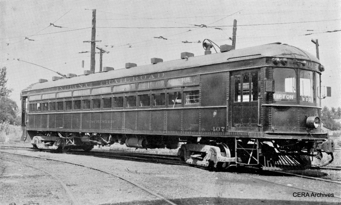 "IR 407, aka ""Winchester,"" was built in 1913 by Cincinnati Car Co. (Barney Neuburger Photo - CERA Archives)"