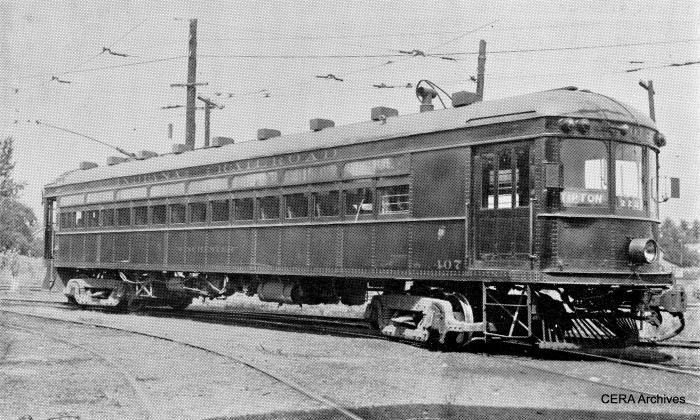"IR 407, aka ""Winchester,"" was built in 1913 by Cincinnati Car Co. (Barney Neuburger Photo - CERA Archives)"
