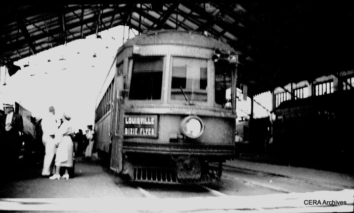 IR 70 in the Indianapolis Traction Terminal. (Photographer unknown - CERA Archives)