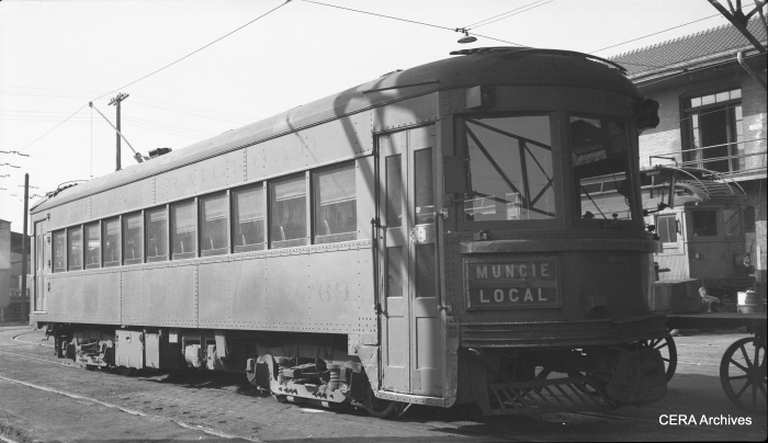 IR 69 in Muncie in 1940. (Photographer unknown - CERA Archives)