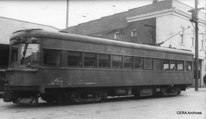 IR 50 in New Castle on May 19, 1940. (Photographer unknown - CERA Archives)