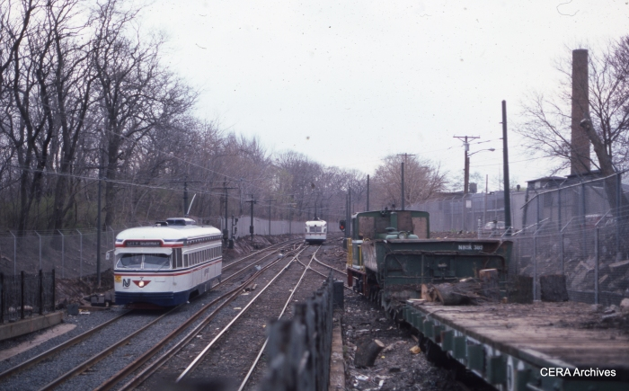 Car 7 at Bloomfield on April 24, 1984. (Photographer Unknown - CERA Archives)