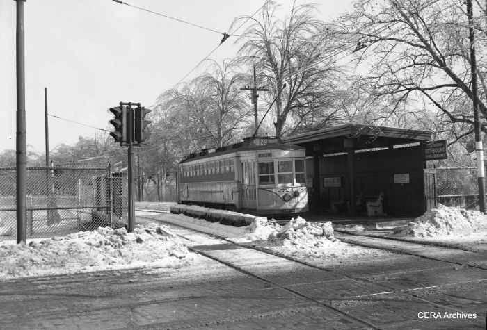 Car 2724 on Route 29, in the days when Newark ran a subway-surface operation, in much the same fashion as Boston, Philadelphia and San Francisco do today. (Photographer Unknown - CERA Archives)