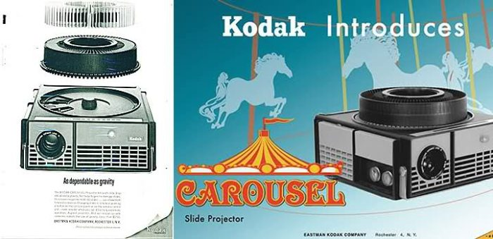 The original Kodak Carousel from 1962.