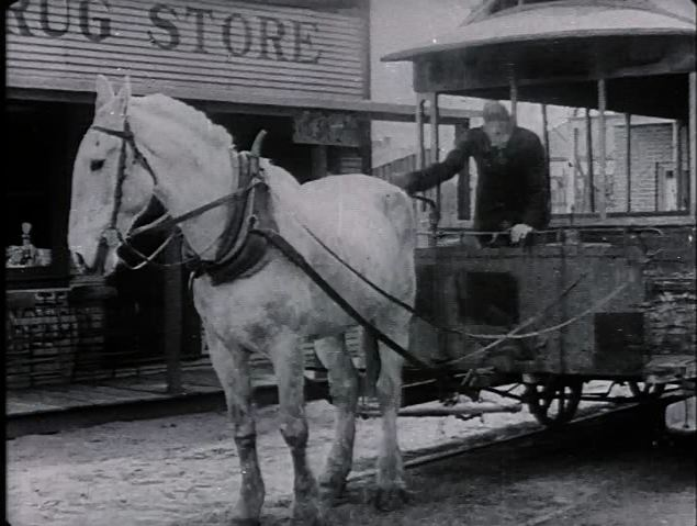 "A screenshot from ""The Bell Boy"" (1918)."