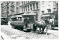 The real last horsecar line in New York City in 1917.