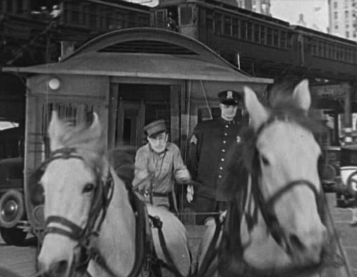 "Harold Lloyd in ""Speedy"" (1928)."