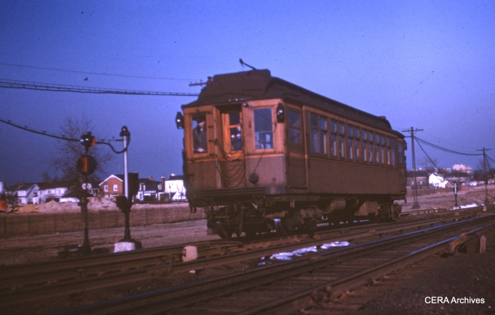 A Niles Center car in the 1940s. (CERA Archives)
