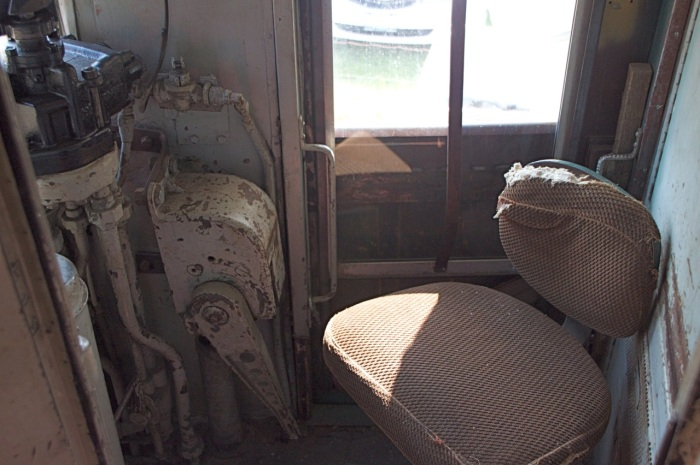 Interior of the motorman's cab, July 2013, Tom Sharratt photo