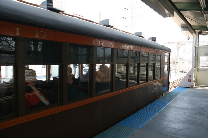Back at Skokie on what will always be the North Shore Line for some of us. (Bill Becwar Photo)