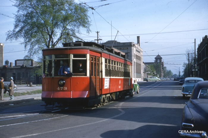 473 at 79th Place and Emerald. (Richard C. Cerne Photo - CERA Archives)