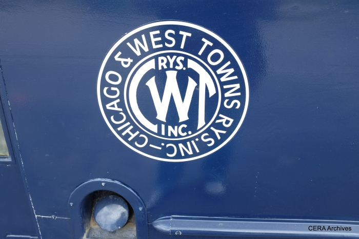 """The C&WT logo on the """"343."""""""