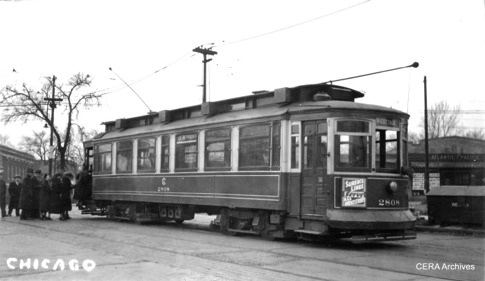 CSL city car 2808. (Slyford Photo - CERA Archives)