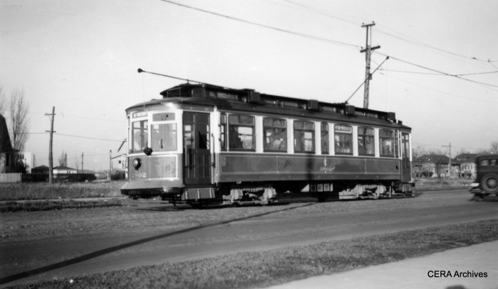 CSL city car 2802. (R. J. Anderson Photo - CERA Archives)