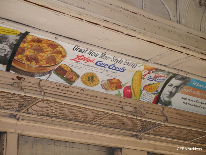 Vintage advertising in CA&E 36. (David Sadowski Photo)