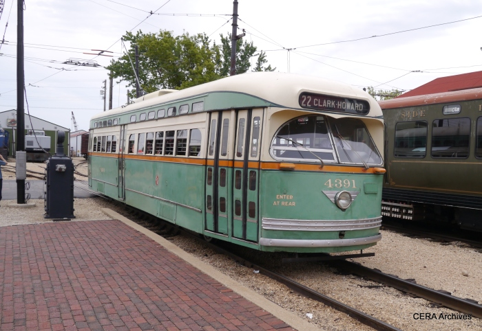 CTA 4391 on the Trolley Loop. (David Sadowski Photo)