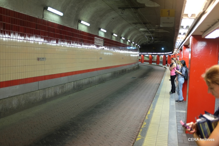 The bus tunnel provides off-street loading and unloading in the busy Harvard Square area, and is also partly responsible for the continued use of trackless trolleys in Boston.