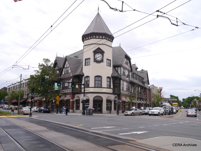 Coolidge Corner is a very picturesque neighborhood.