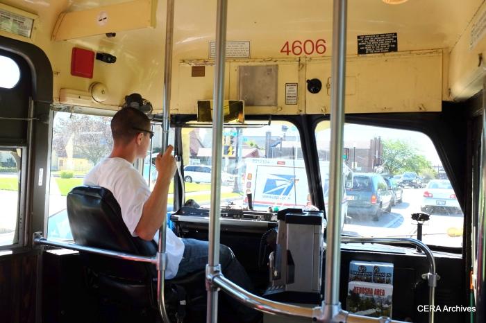 Kenosha's streetcar operators are always very courteous and friendly.