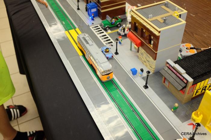 A Lego PCC car.