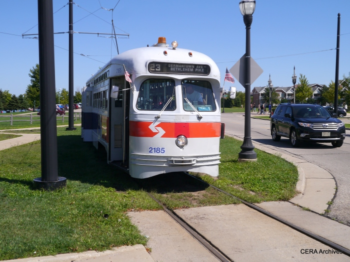 This ex-SEPTA car from Philadelphia is the latest addition to the Kenosha fleet.